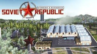ПРОИЗВОДСТВО ЭЛЕКТРОНИКИ #18 Прохождение Workers & Resources Soviet Republic