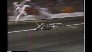 1991 Robbie Knievel Crash at Atco Raceway New Jersey