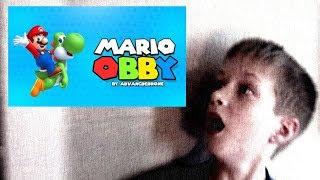 Super Mario Obby on Roblox