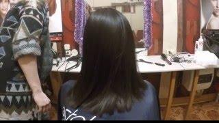 КЕРАТИНОВОЕ ВЫПРЯМЛЕНИЕ Волос в домашних условиях. ПОШАГОВО.ДО И ПОСЛЕ