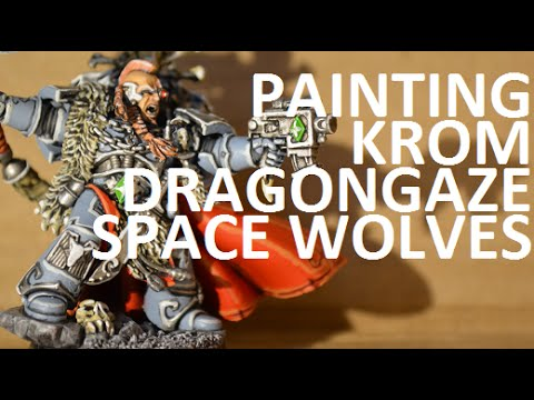 Painting Space Wolves - Wolf Lord (Krom Dragongaze)