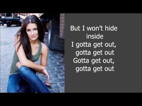 Cannonball - Lea Michele lyrics!