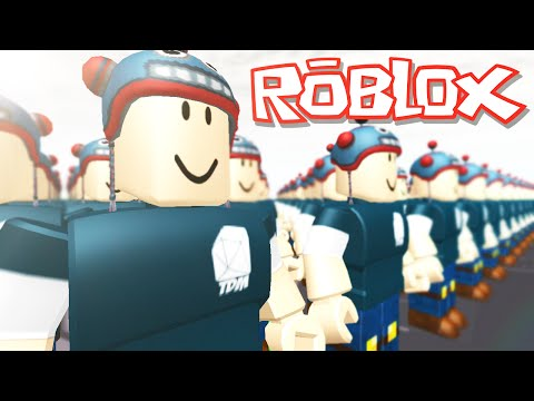 Roblox Adventures / Build to Protect Your Kid / DanTDM Army!