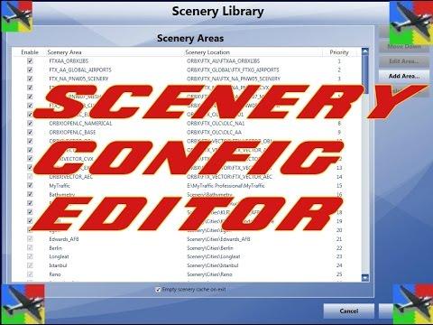 |FSX/P3D||SCENERY CONFIG EDITOR||(TUTORIAL)|