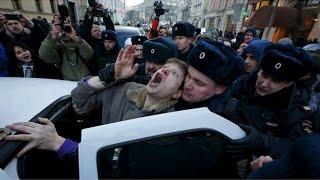 Драка с полицией в поселке Шилово, 67% не доверяют Полиции, REN TV
