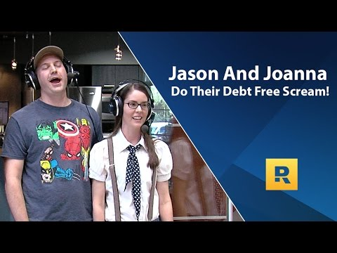 Jason And Joanna's Debt Free Scream! Paid of $65,000 in 4.5 Years.