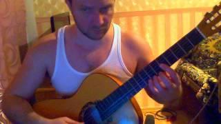 Красивая пьеса для гитары