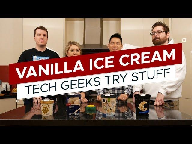 Taste Test: AUSSIE Vanilla Ice Cream   TGTS S3E7