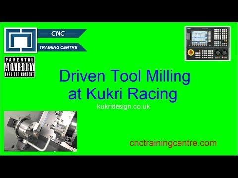 Driven Tools (Live Tooling) Milling on a CNC Lathe - CNC Training Centre