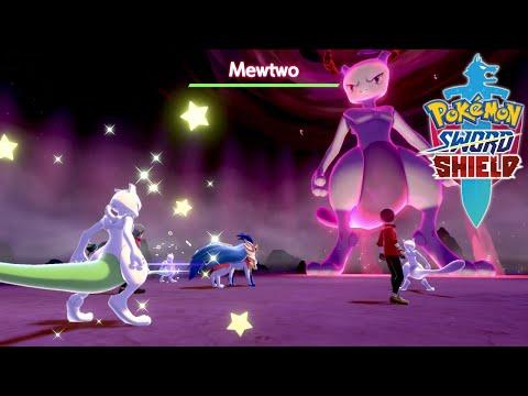 Pokemon Sword & Shield Mewtwo Max Raid Battle! |
