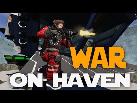 Space Engineers - War On Haven! (Exploration Mod Survival Coop)