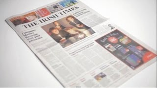 The Irish Times - print redesign launch