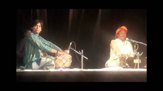 Rajasthani Mand (Folk Song) Live - Rajasthan Sthapna Divas celebration at Town Hall (Jodhpur)