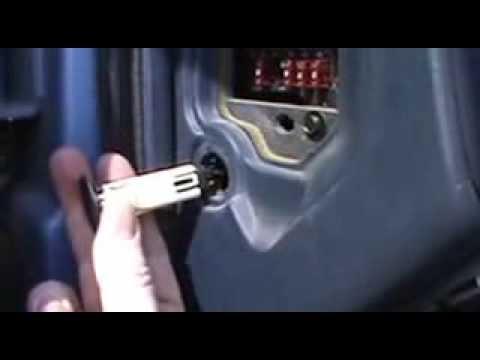 Chevy S-10 Door Switch replacement - YouTube