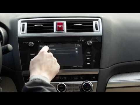 Subaru Door Lock Settings Youtube