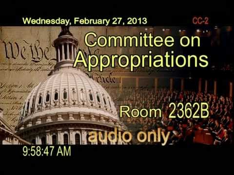 Hearing: United States Army Corps of Engineers FY 2013 Budget (EventID=100286)