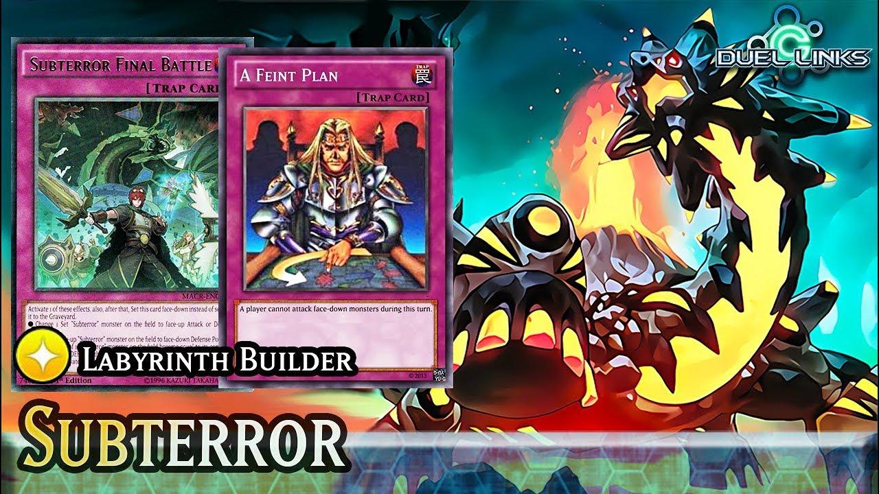 Subterror Labyrinth Blazing Rose F2p Meta Deck Duel Links By Duellinks C