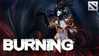 BurNIng Rampage Queen of Pain Dota 2