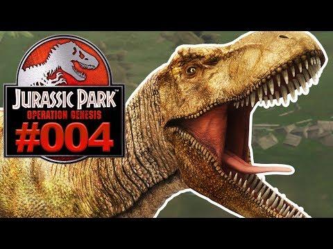JURASSIC PARK OPERATION GENESIS #004 T-Rex und Tornado [Deutsch]