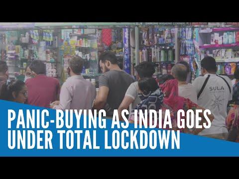 Panic buying as