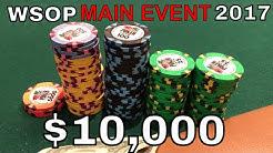 WSOP $10,000 Main Event Day 1 - Poker Vlog #33