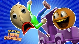 Turbo Dismount!!  w/ BALDI Bean Butts!!!