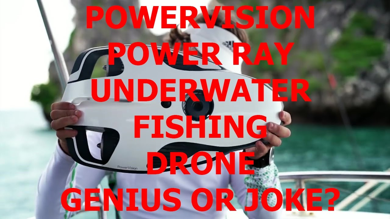 joke or genius power vision power ray the underwater drone youtube