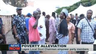 Lagos Council Chairmen woo voters through poverty alleviation scheme