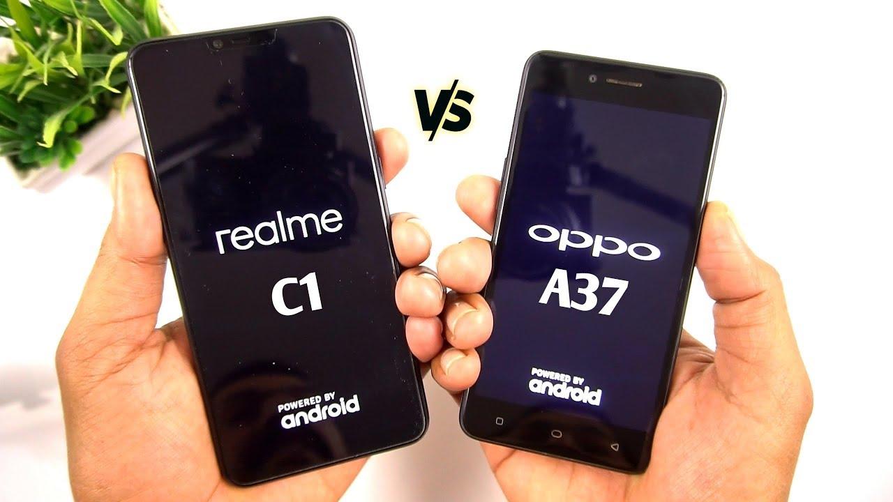 Realme C1 vs Oppo A37 Speed Test & Comparison [Urdu/Hindi]