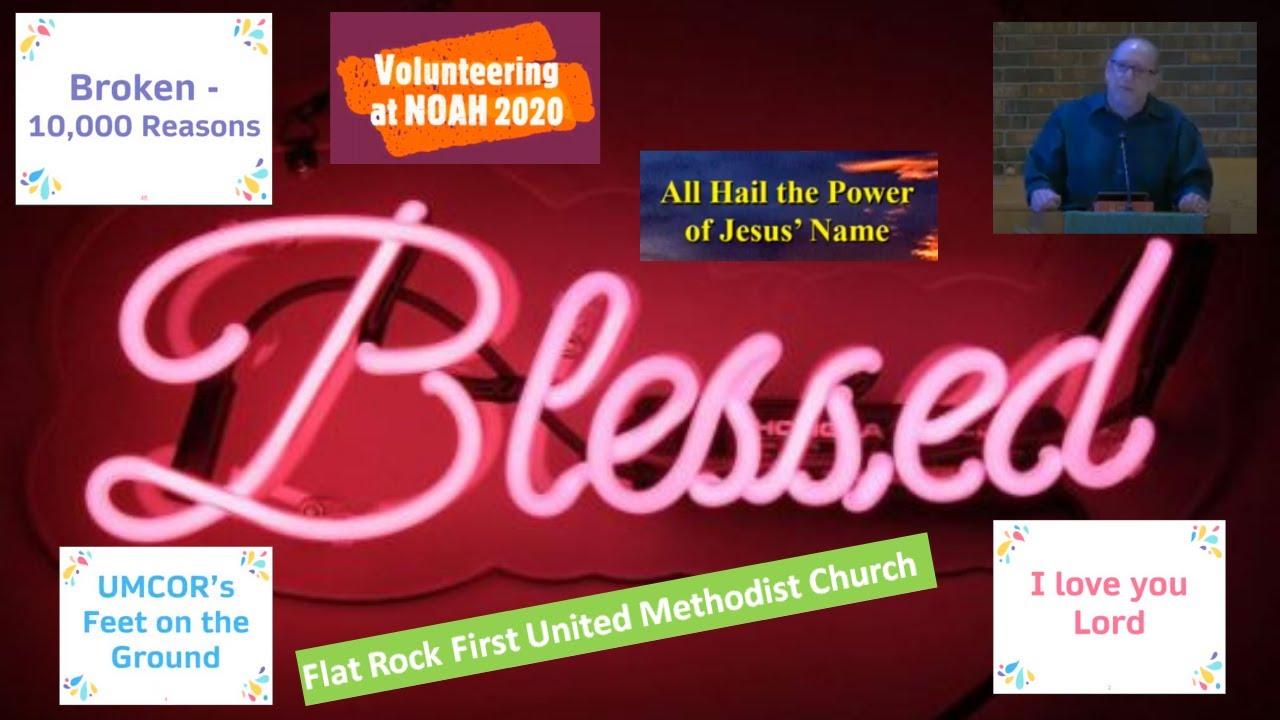 Flat Rock United Methodist Church - November 8th 2020