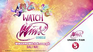 Winx Club - Watch the episodes on TV5 and join the contest! [Philippines only]