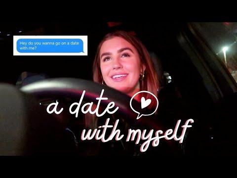 taking myself on a date