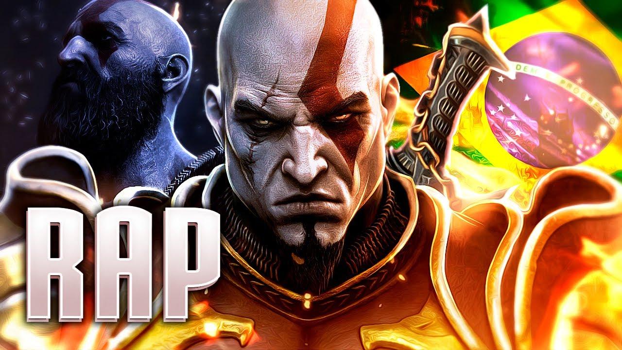 Rap do Kratos (God of War) - FANTASMA DE ESPARTA | PAPYRUS DA BATATA