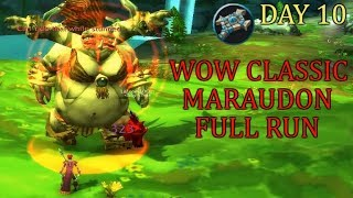 Maraudon Full Dungeon Run | WoW Classic Gameplay | Priest Day 10 Leveling