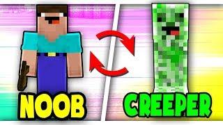 Cách biến NOOB Thành CREEPER NOOB Trong Minecraft!!