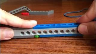 лук со стрелой из Лего