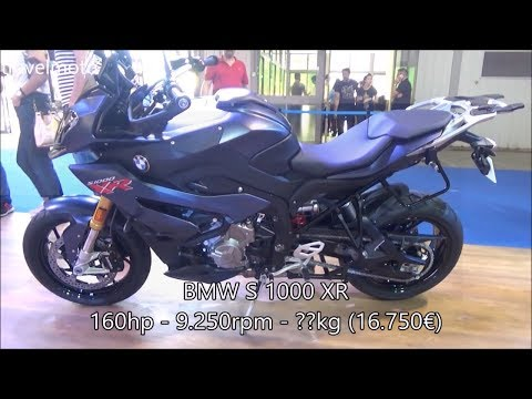 The 2018 BMW S 1000 XR Adventure Motorcycle