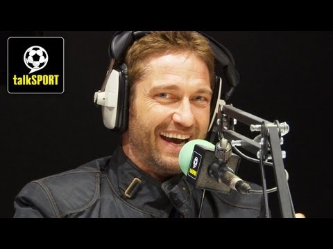 Gerard Butler reveals how film stars fake their football skills on screen