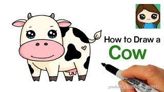 How to Draw a Cow Easy