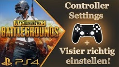 Playerunknown´s Battlegrounds - Controller Settings - Visier Einstellen - Einstieg