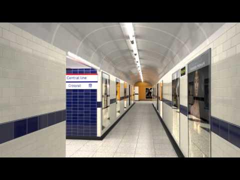 Bond Street station redevelopment for 2017 - virtual tour walk-through - Tube improvements