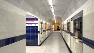 Bond Street station redevelopment for 2017 - virtual tour walk-through - Tube improvements