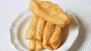 Fried Chinese Breadstick / Home Made You Tiao /油条