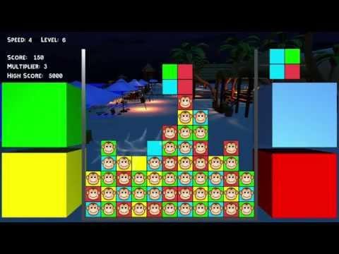 Puzzle Monkeys for Wii U Trailer