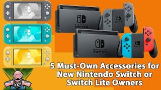 Switch & Switch Lite Buyer's Guide: 5-Must Own Accessories for New Nintendo Switch Owners