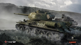 Т-34-85 RUDY  наказалава раков World of Tanks