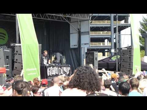 RUN DMT (Live) @ Vans Warped Tour 2013 (Chicago, IL) (July 20, 2013) (Part II)