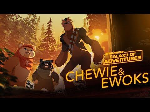 Chewie And Ewoks - Hijacking A Walker | Star Wars Galaxy Of Adventures