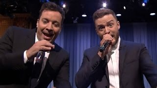 Justin Timberlake & Jimmy Fallon Perform History of Rap 6 &