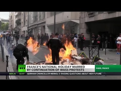 Is France on brink of revolution?